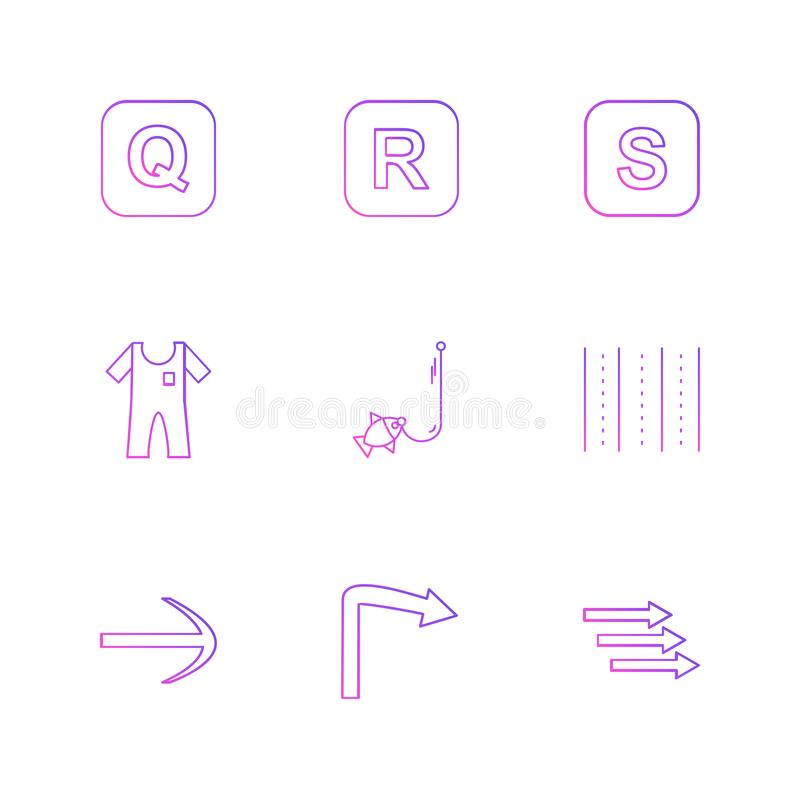 boat , arrows , alphabets , sea , food , picnic , summer , eps vector illustration