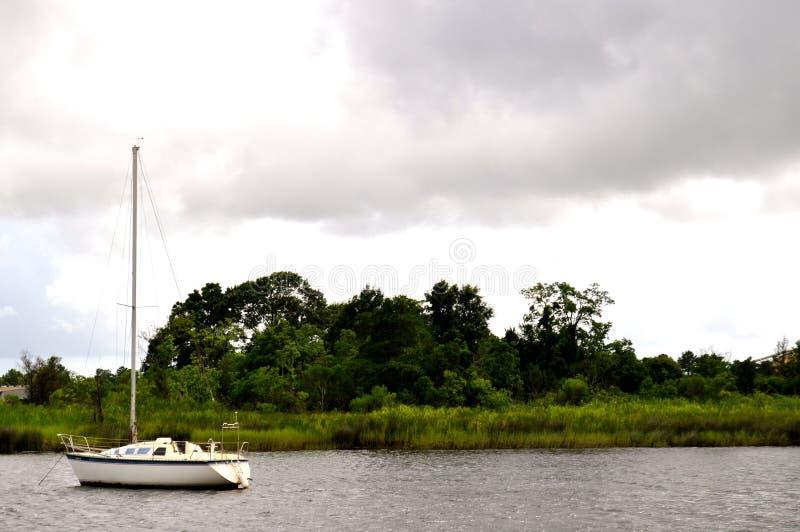 Boat Background Stock Photography