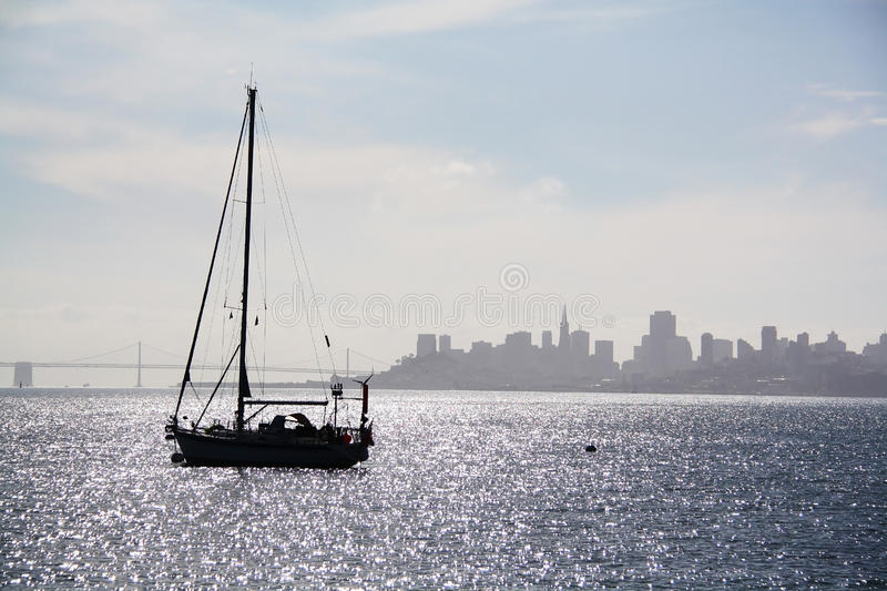 Boat On The Bay Stock Photography
