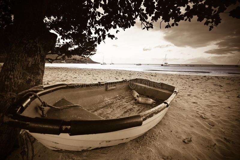 Download Boat on a beach stock image. Image of rowboat, mode, landscape - 10722769