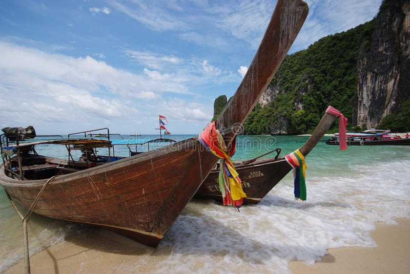 Download BOAT ON THE BEACH stock image. Image of ocean, peaceful - 10799913