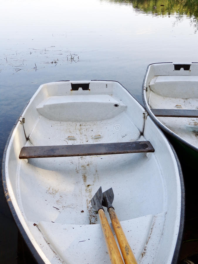 Boat. S on the shore of the lake stock image