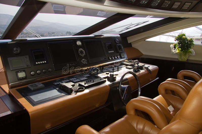 Download Boat cabin stock photo. Image of chair, horizontal, travel - 34128454
