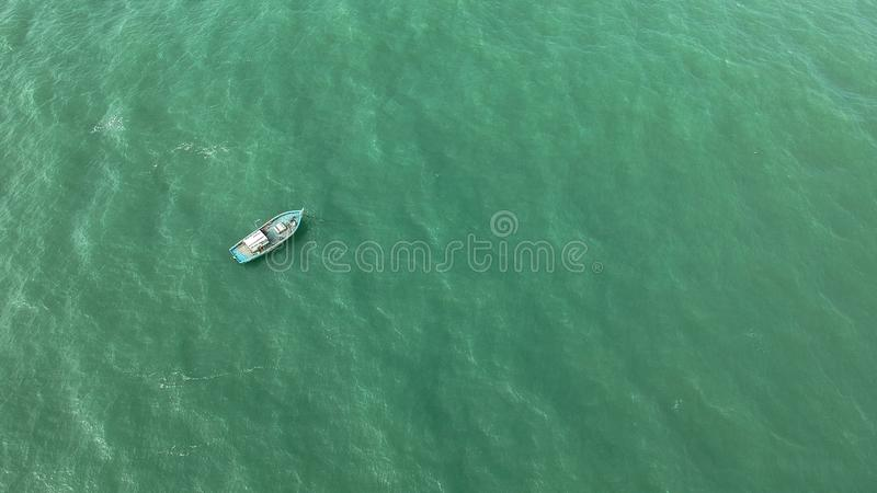 Boat on Calm Body of Water royalty free stock photography
