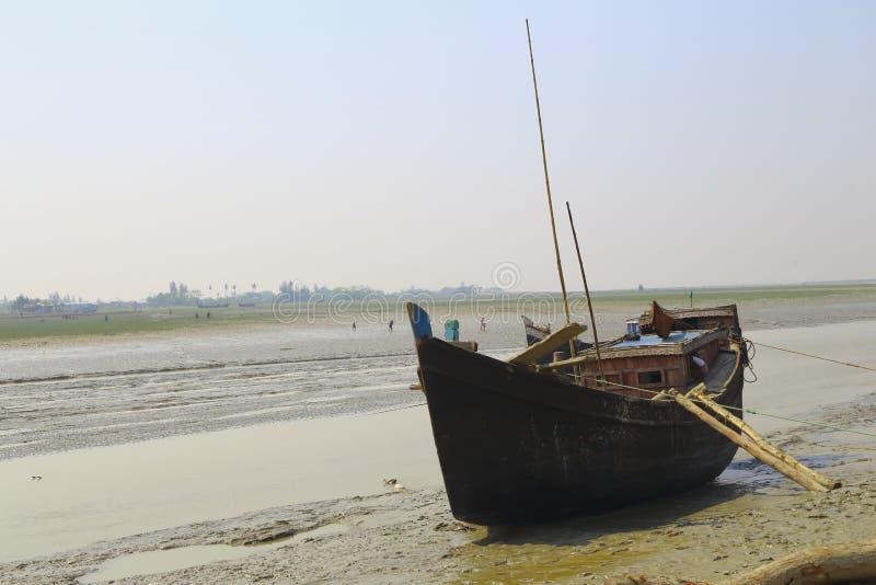 Boat at canal royalty free stock image