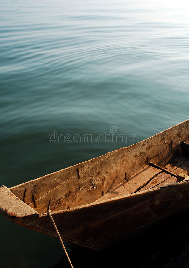 Boat in China stock image