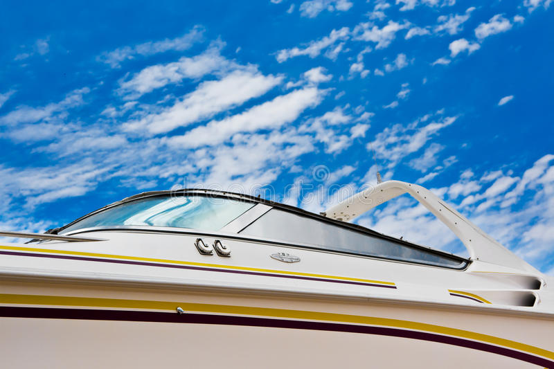 Download Boat with clipping path stock photo. Image of cloudy - 25230684