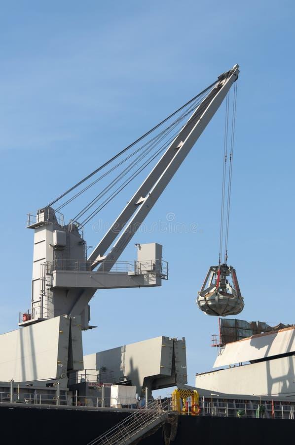 Download Boat crane stock photo. Image of discharge, heavy, dockside - 11861730