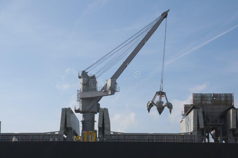 Download Boat crane stock photo. Image of sundown, color, shipyard - 11861754