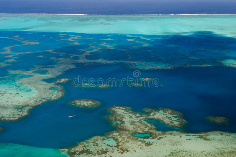 Download Boat in blue lagoon stock photo. Image of fantastic, flayer - 22553220