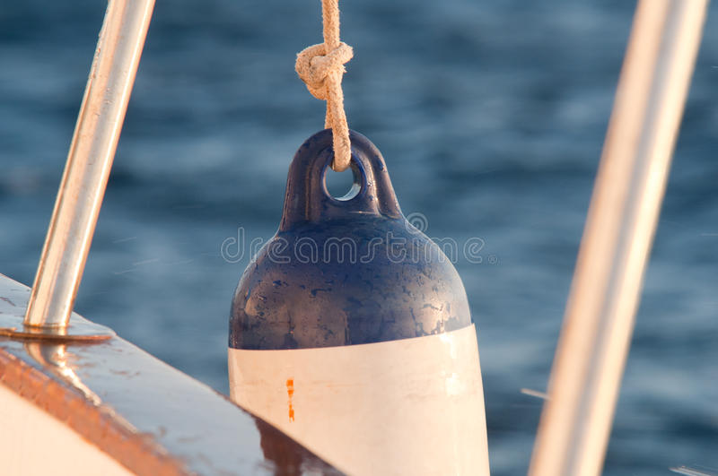 Boat Defense Royalty Free Stock Images