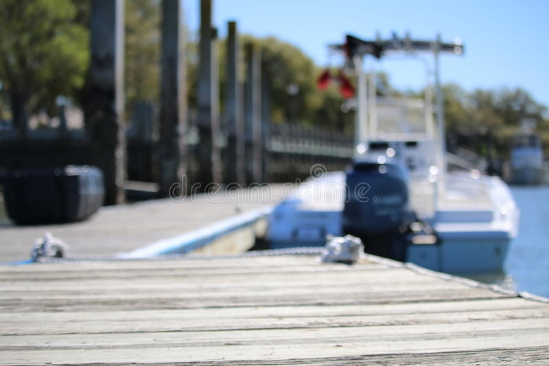 Boat Dock royalty free stock photography