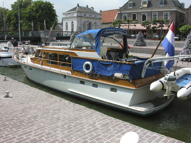Download Boat Entering The Muiden Locks Stock Photo - Image: 198406
