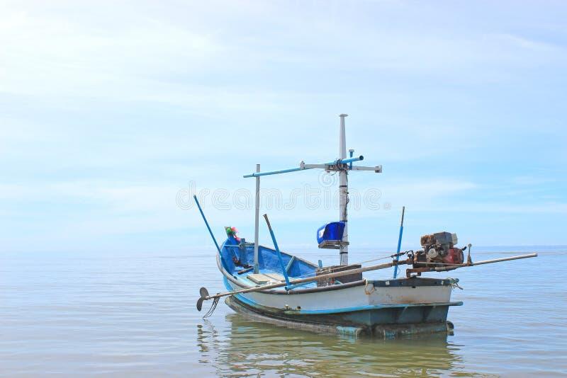 Boat Of Fisherman Stock Photo