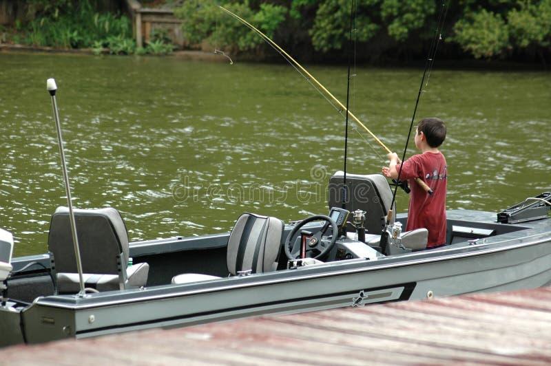 Boat Fishing stock photography