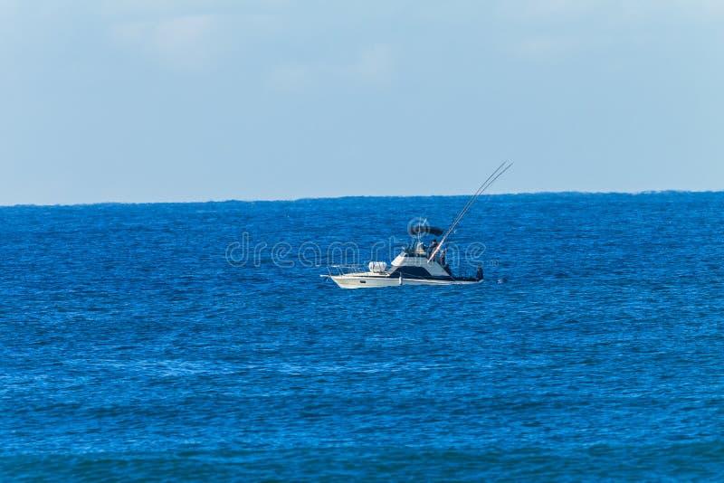 Boat Game Fishing Blue Ocean stock photo