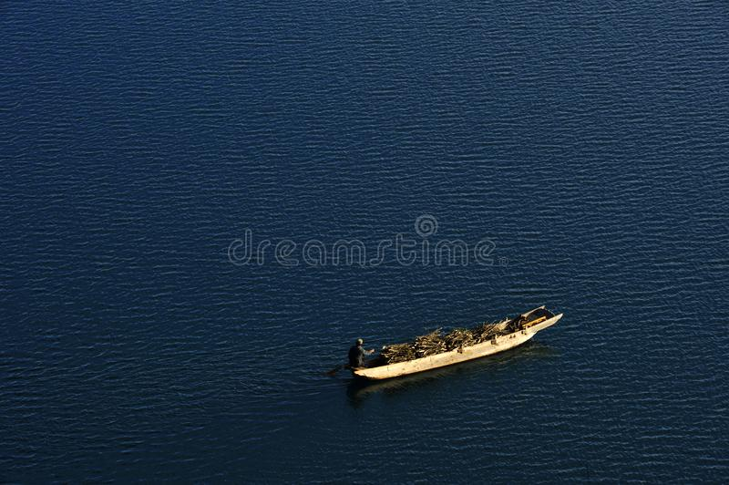 Download The boat is going stock image. Image of lake, southwest - 7764969