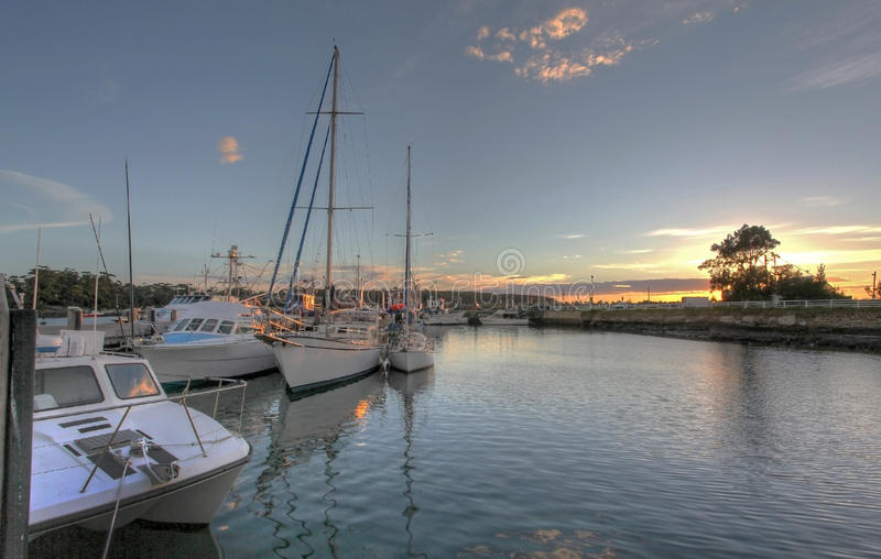 Boat Harbour royalty free stock photo