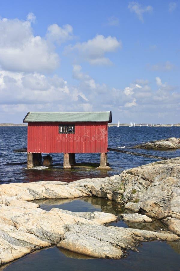 Download Boat House stock image. Image of horizon, nature, nobody - 24526551