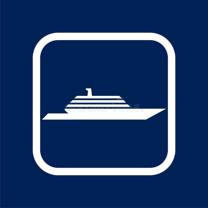 Boat Icon Flat Graphic Design - Illustration. Icon stock illustration