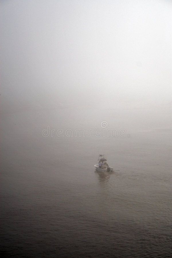 Free Boat In The Fog Stock Photos - 7703993