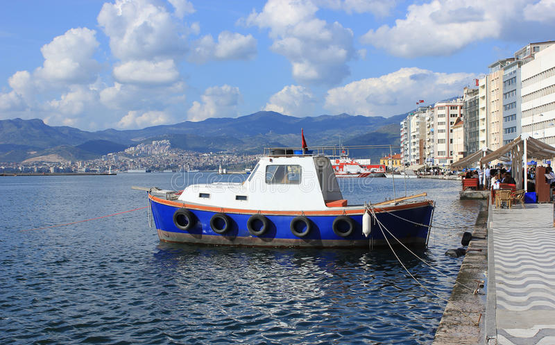 Download Boat in Izmir (Alsancak) stock photo. Image of marina - 30481962