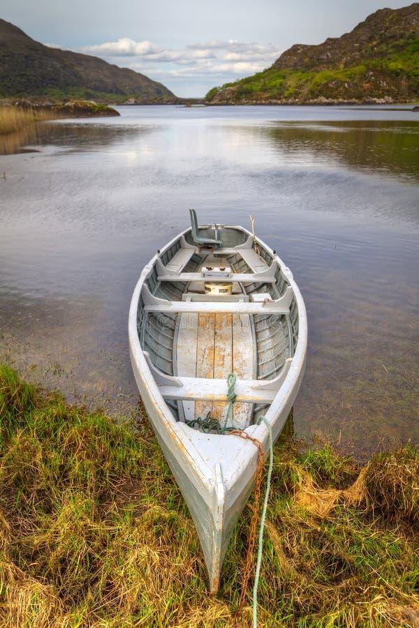 Download Boat at the Killarney lake stock image. Image of county - 24864987