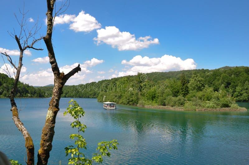 Download Boat on lake stock photo. Image of beautiful, landscape - 26091944