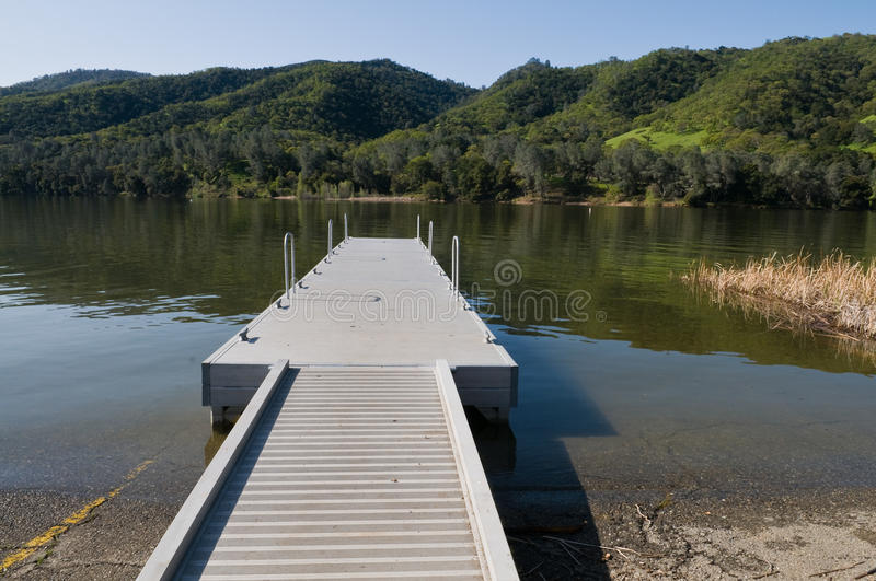 Boat launch royalty free stock photo