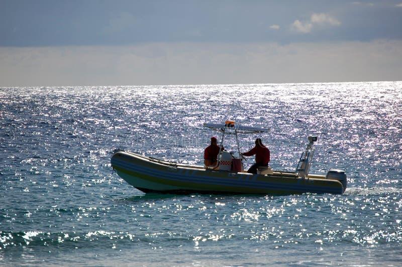 Boat of Life Saving royalty free stock photo