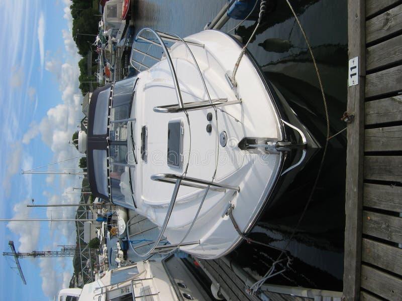 A Boat At A Marina Stock Images