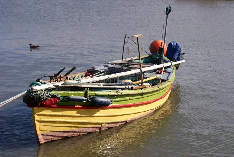 Boat In Marina Free Stock Images