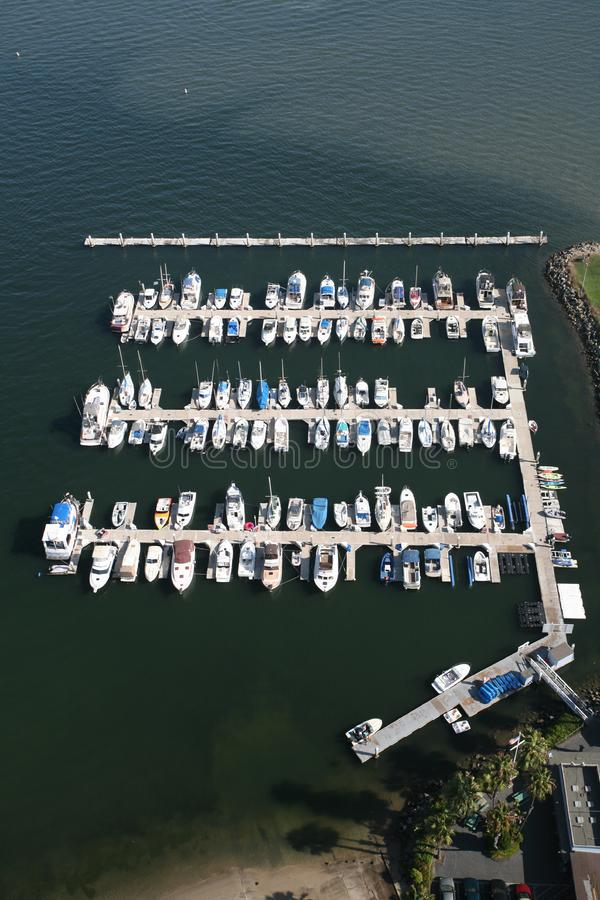 Boat Marina royalty free stock images