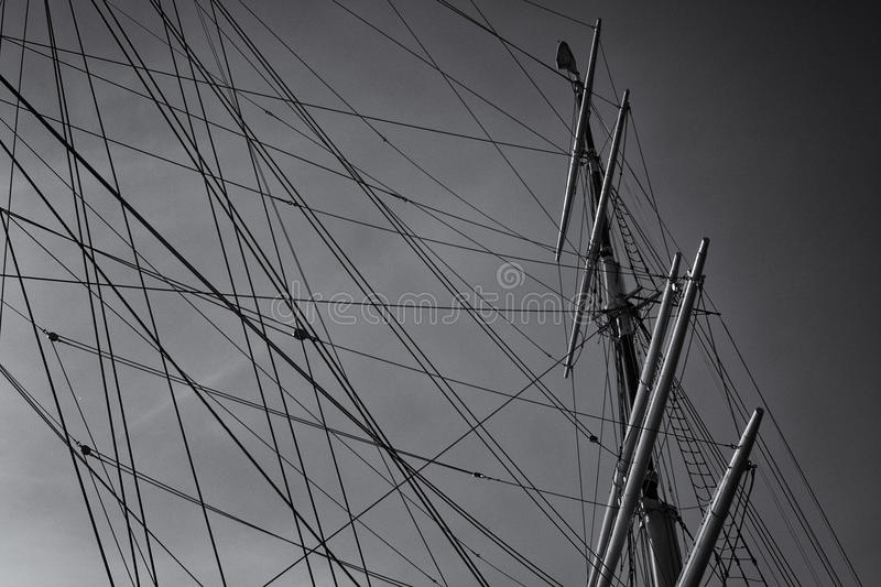 Download Boat Mast Royalty Free Stock Images - Image: 21084299