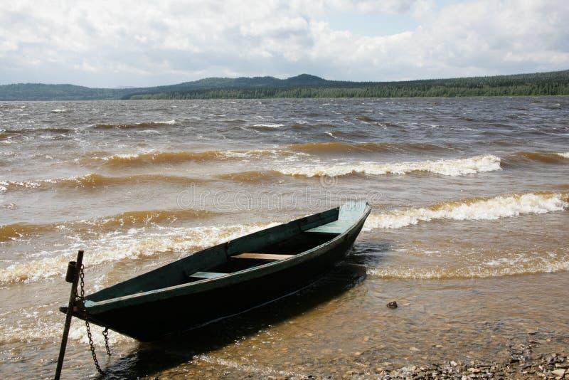 Download Boat near lake stock photo. Image of recreation, season - 13284142