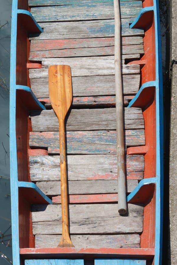 Download Boat oars stock image. Image of equipment, lake, dock - 25100441