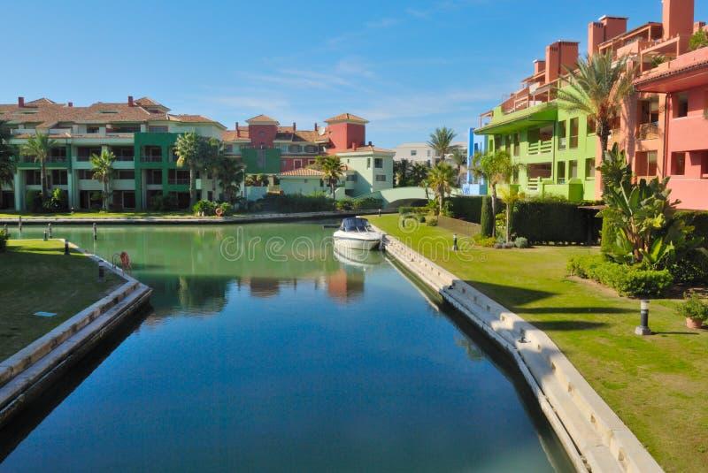 Download Boat parked stock photo. Image of holidays, urbanization - 22203860