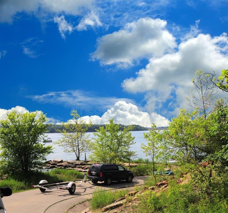 Download Boat Ramp stock photo. Image of landscape, luxury, marina - 5483190