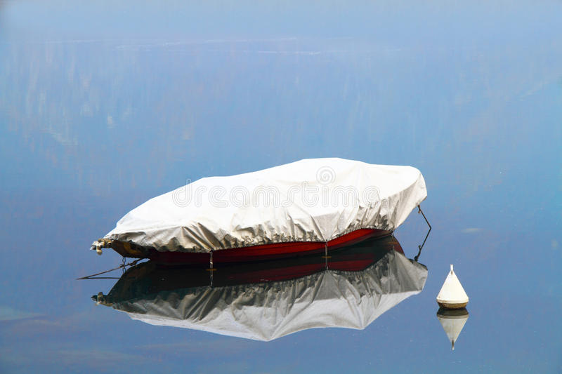 Download Boat with reflection stock photo. Image of trip, navigate - 12108560