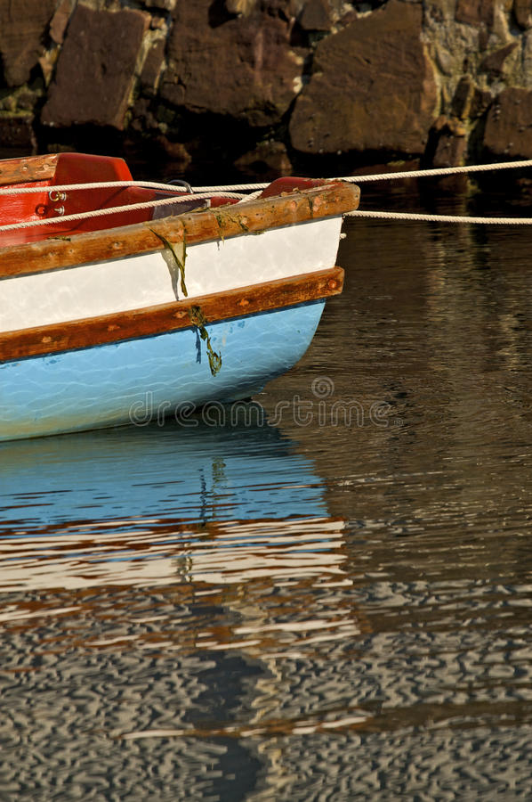 Download Boat reflection stock photo. Image of pure, port, mirror - 17646470