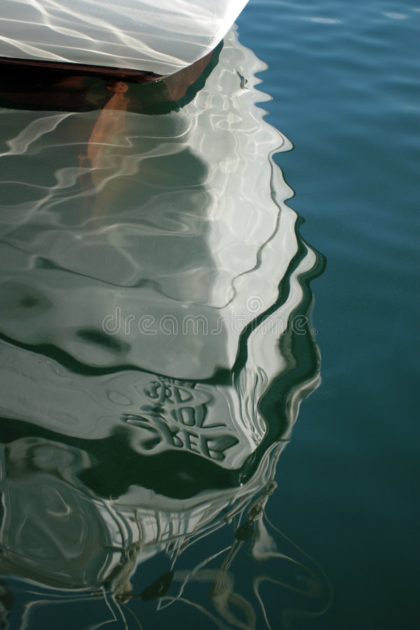 Free Boat Reflection Royalty Free Stock Photography - 932467