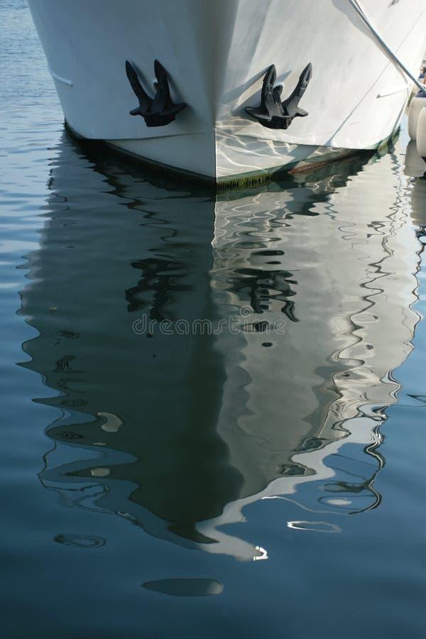 Free Boat Reflection Stock Image - 932541