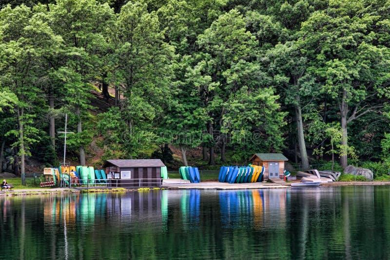 Download Boat Rentals stock photo. Image of scenic, lake, dock - 10334762