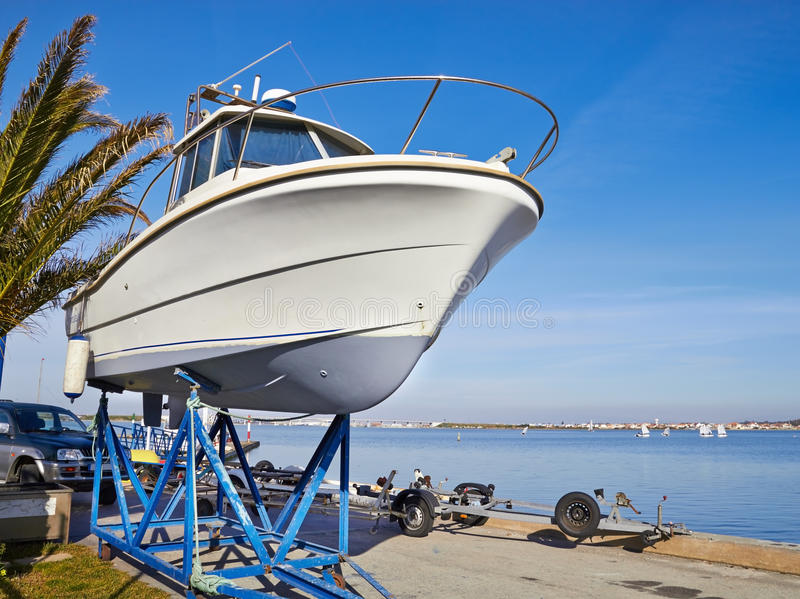 Boat Repairs Stock Image