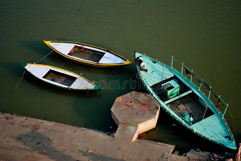 Download Boat at rest editorial stock image. Image of asian, flower - 39505314