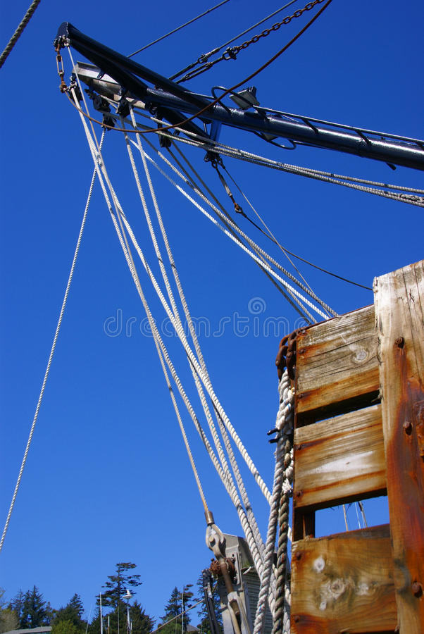 Boat rigging, block & tackles
