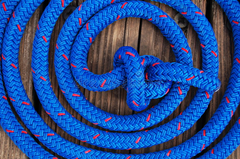 Download Boat Rope Royalty Free Stock Photos - Image: 7684838