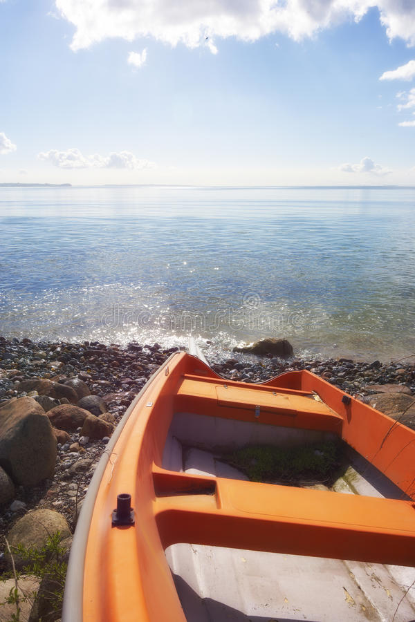 Download Boat and the sea stock photo. Image of life, beach, ocean - 17403340