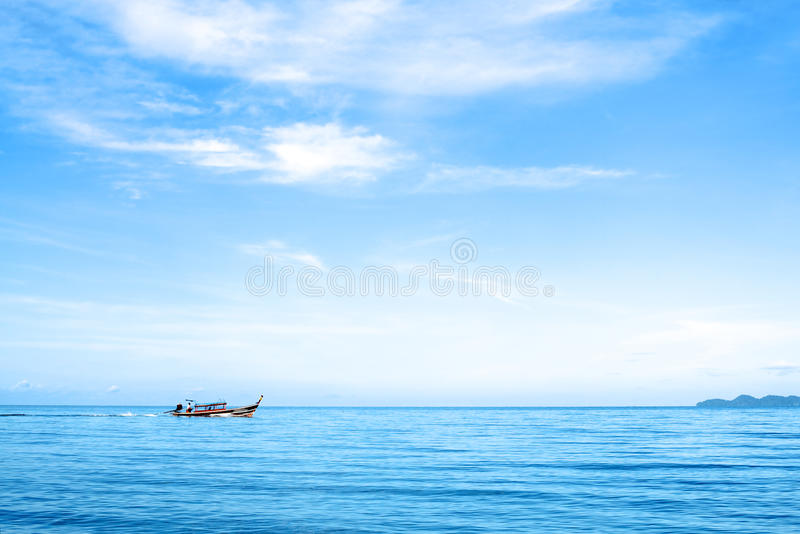 Download Boat in the Sea stock photo. Image of ocean, andaman - 24234956