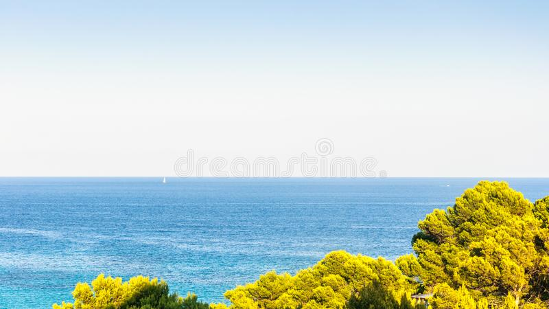 Sea royalty free stock photos
